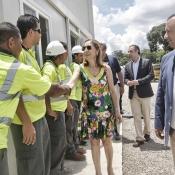Evento reportaje - Inauguración de Concretera - Embajada de España
