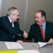 Fotos reportaje para la Embajada de Chile - Pro Chile / Tratado de libre comercio Chile Panamá / Una prospectiva a seis años de su entrada en vigencia.