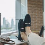 Fotografía de calzados marca Bally para publicidad